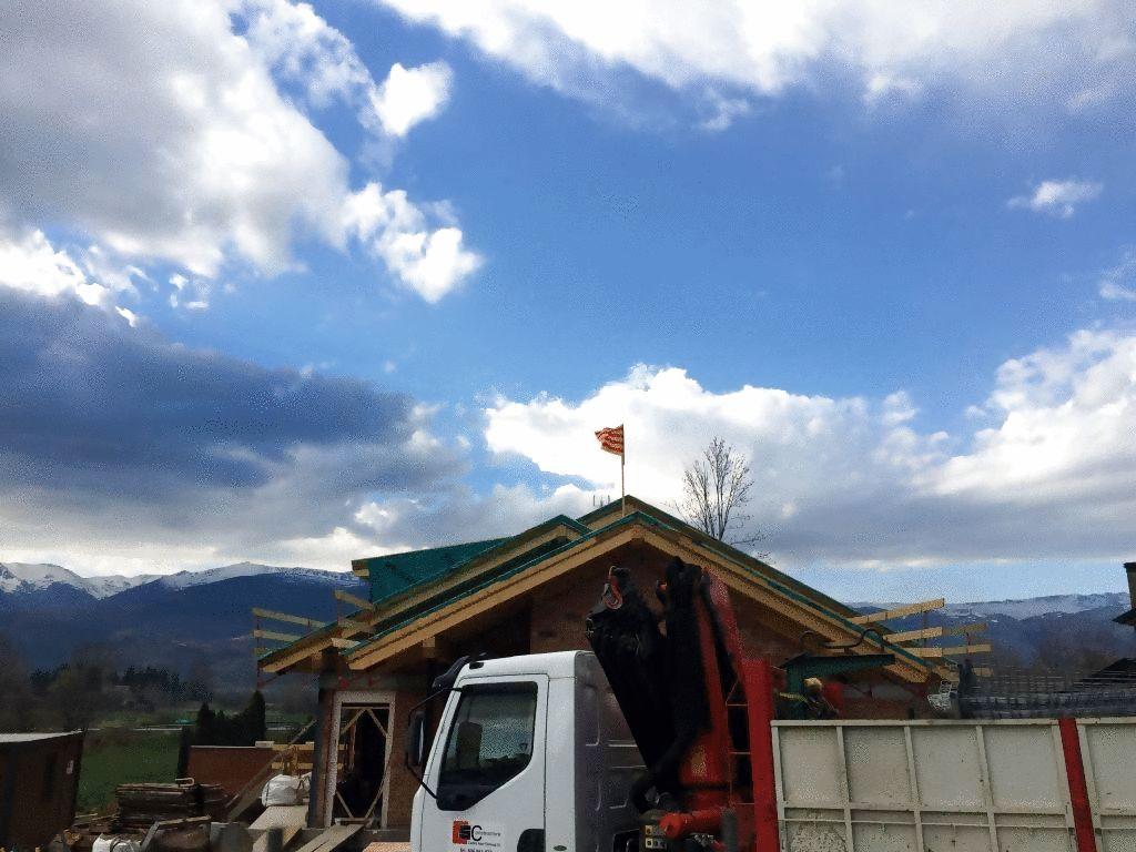 Celebracio Bandera Construccio - Somoza Construccions Cerdanya Alp